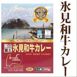 ご当地カレー レトルト 氷見和牛カレー 200g 中辛 タカ...
