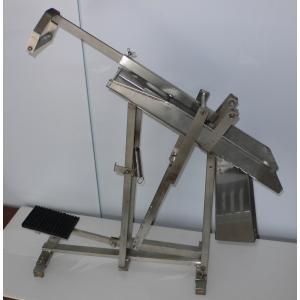在庫処分特価!柑橘しぼり機 NJ-17B_据置タイプ 手押・足踏兼用式|nanyojuicer