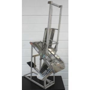 柑橘しぼり機 NJ-18_据置タイプ 手押・足踏兼用式  2個用(ゆず ユズ 柚子 しぼり器 搾り器 絞り器 ジューサー)|nanyojuicer