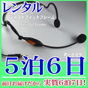 【レンタル5泊6日】ヘッドマイク(RENT-806)
