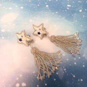 星のイヤリング|naorelax