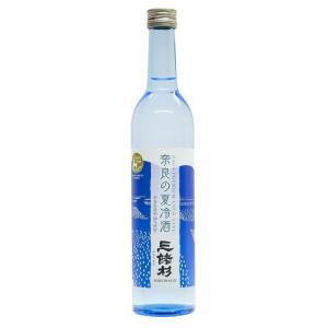 奈良の夏冷酒(三諸杉みむろすぎ)特別純米酒/辛口/露葉風100%/今西酒造/日本酒/清酒/500ml|nara-izumiya