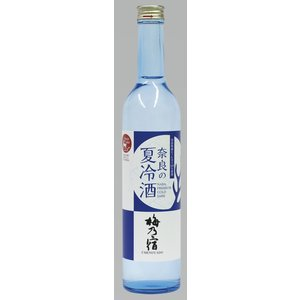奈良の夏冷酒(梅乃宿)純米吟醸酒/奈良県産ヒノヒカリ100%/梅乃宿酒造/500ml|nara-izumiya