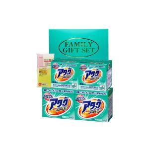 箱サイズ195×315×142 アタック洗剤1900g×2個 ワンパックアタック(10袋入)×2個 ...
