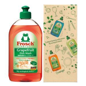 フロッシュ 食器用洗剤 グレープフルーツ 大容量 500ml (化粧箱入り) ※包装なし・のしは無料|naragift-ys