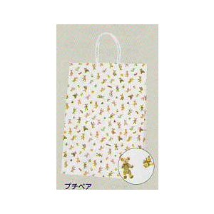 紙袋プチベア大サイズ(Pスムース2才) (ギフト商品をお買い上げのお客様のみ販売)|naragift-ys
