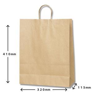 紙袋クラフト無地大 (ギフト商品をお買い上げのお客様のみ販売)|naragift-ys
