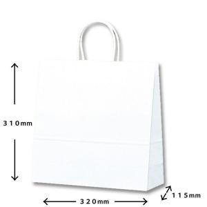 紙袋白無地小 (ギフト商品をお買い上げのお客様のみ販売)|naragift-ys