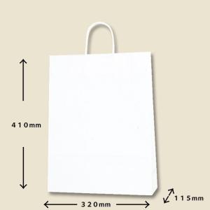 紙袋白無地大 (ギフト商品をお買い上げのお客様のみ販売)|naragift-ys