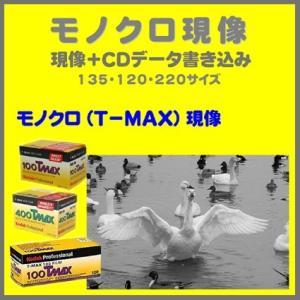 モノクロフィルム  モノクロ現像 (T−MAX)+CDデータ書き込み  Kodak T-MAX 100 400 1本から受付 naraphotoclub
