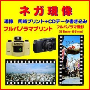 ネガフィルム ネガ現像  同時プリント FUJI TX-1 HORIZON 135 フルパノラマ 1本から受付