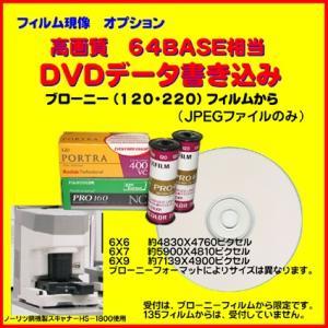 オプション ブローニーフィルムからのCDデータ書き込みを高画質64BASE JPEG CD書き込みに変更 naraphotoclub