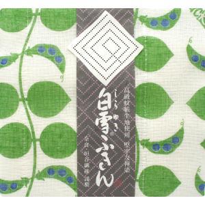 【奈良みやげ】友禅染 白雪ふきんジャックと豆の木(グリーン)|narazake