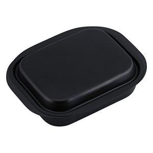 和平フレイズ 鉄製 グリルパン ブラック ミニ角型 12×15cm IH対応 蓋付 魚焼きグリル活用...