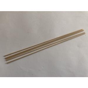 ノースイースタン 1/8インチ バスウッド 丸棒 (直径約3.2mm×長さ310mm)(5本入)|narrow-gauge-shop