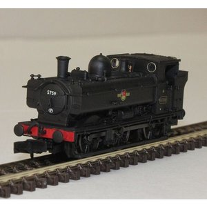 DAPOL Nゲージ (9mm) 2S-007-001 0-6-0 Pannier Locomotive 5759 BR Black Late Crest|narrow-gauge-shop