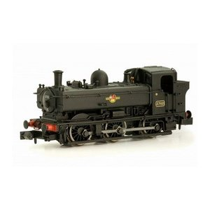 DAPOL Nゲージ (9mm) 2S-007-006 Class 8750 Pannier Tank #3702 BR Black Late Crest Locomotive|narrow-gauge-shop