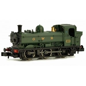 DAPOL Nゲージ (9mm) 2S-007-009 GWR 57XX Pannier Tank #5724 GWR Green 'GWR' Lettering|narrow-gauge-shop