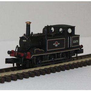 DAPOL Nゲージ (9mm) 2S-012-003 Terrier #32670 BR Lined Black with Late Crest|narrow-gauge-shop
