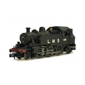 DAPOL Nゲージ (9mm) 2S-015-001 Class 2MT Ivatt 2-6-2 #1208 in LMS black|narrow-gauge-shop