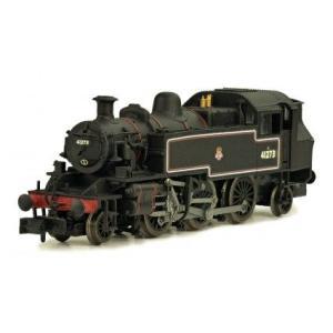 DAPOL Nゲージ (9mm) 2S-015-002 Class 2MT Ivatt 2-6-2T #41273 in BR black with early emblem|narrow-gauge-shop