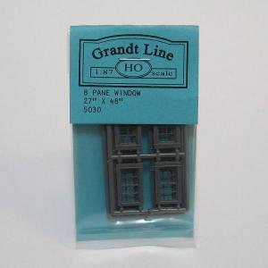 グラントライン #5030 HOスケール 窓材(約10×17mm)(8個入)|narrow-gauge-shop