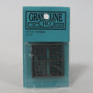 グラントライン #5112 HOスケール 窓材(約11×10mm)(8個入)|narrow-gauge-shop