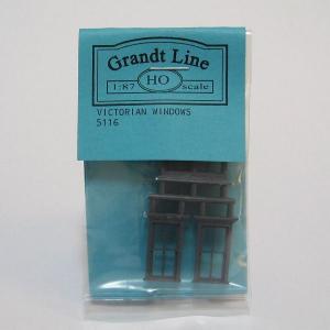 グラントライン #5116 HOスケール 窓材(約20×21mm/約10×21mm)(2個入/4個入)|narrow-gauge-shop