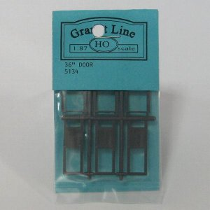 グラントライン #5134 HOスケール 扉材(約12×30mm)(3個入)|narrow-gauge-shop