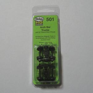 ケーディー KD NO.501 HO用 アーチバー台車 (2個入/1輌分)|narrow-gauge-shop