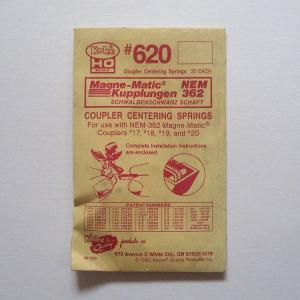 ケーディー KD NO.620 HO用 復元バネ  (NO.58/119/178/150シリーズ/711/714/2100を除く) (20個入り)|narrow-gauge-shop