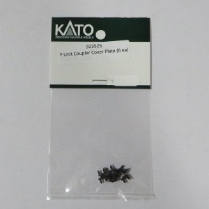 KATO USA 923525  N用 Fユニット カプラーカバープレート (押さえ板) 923500/923501用 6個入り|narrow-gauge-shop