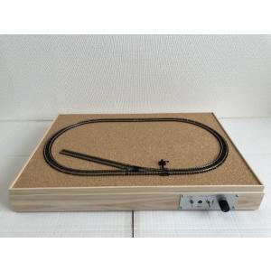 Nゲージ(Bトレ用) 卓上レイアウトベース PECO フレキシブルレール(9mm,コード80)&ポイントレール パワーパック付き|narrow-gauge-shop