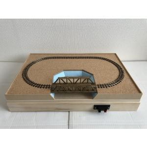 A3サイズ HOe (9mm,コード80) 小型ナローパイク レイアウトベース PECO フレキシブルレール トラス橋|narrow-gauge-shop