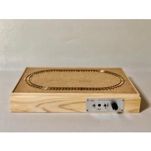 国産の手作り品 A4サイズ HOナロー (9mm,コード70) 日本庭園風の白木造りレイアウトベース 猫屋線にもおすすめ narrow-gauge-shop