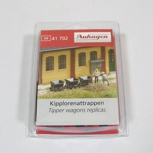 Auhagen 41702 HOナロー(1/87) ダンプカー 3両 レプリカ|narrow-gauge-shop