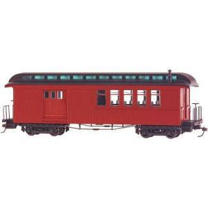 バックマン スペクトラム 26198 On30(16.5mm) コンバインカー(室内灯装備) Painted (Unlettered- Burgundy & Black)|narrow-gauge-shop