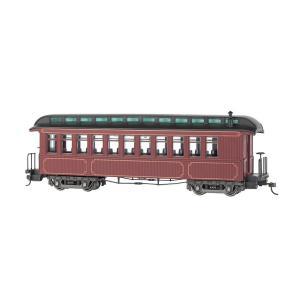 バックマン スペクトラム 26201 On30(16.5mm) 客車 (室内灯装備) Burgundy & Black, Unlettered|narrow-gauge-shop