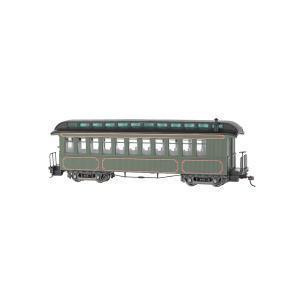 バックマン スペクトラム 26202 On30(16.5mm) 展望車 (室内灯装備) Olive, Unlettered|narrow-gauge-shop