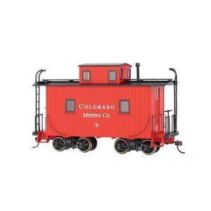 バックマン スペクトラム 27762 On30(16.5mm) カブース(室内灯装備) Mining #3|narrow-gauge-shop