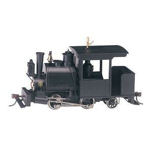 バックマン スペクトラム 28299 On30(16.5mm)  0-4-2 ポーター - Painted/Unlettered Black|narrow-gauge-shop