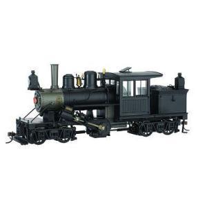 バックマン スペクトラム 28605 On30(16.5mm) 28トン 2トラック クライマックス - Painted Unlettered - Black (single-panel wood cab)|narrow-gauge-shop