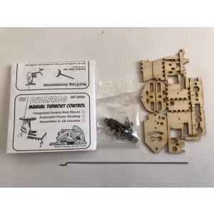 ファストトラックス/Fast Tracks BF-0002 手動ポイント切り替えキット (アダプタースイッチ付き) BullFrog Manual Turnout Control|narrow-gauge-shop