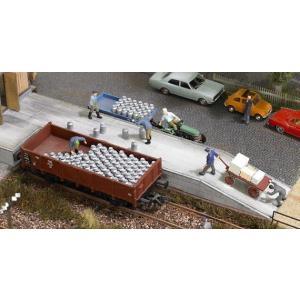 ブッシュ/BUSCH 1132 HO (1/87) ミルク缶セット|narrow-gauge-shop