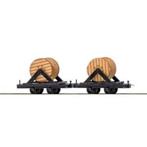 ブッシュ/BUSCH 貨車 12208 HOf (1/87,6.5mm) ケーブルリールワゴン (積荷付き)|narrow-gauge-shop