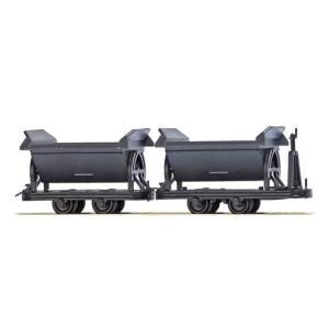 ブッシュ/BUSCH 貨車 12216 HOf (1/87,6.5mm) チップワゴン 2輌セット|narrow-gauge-shop