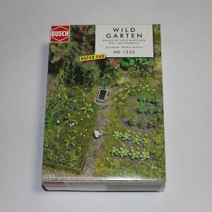 ブッシュ/BUSCH 1223 HO (1/87)  自然庭園セット|narrow-gauge-shop