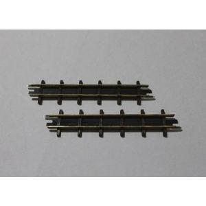 ブッシュ/BUSCH 12303 HOf (1/87,6.5mm) 直線レール 2本入り (66.6mm)|narrow-gauge-shop