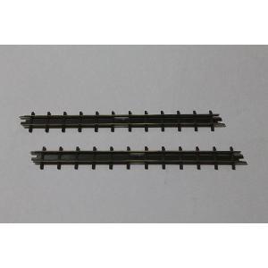 ブッシュ/BUSCH 12305 HOf (1/87,6.5mm) 直線レール 2本入り (133.2mm)|narrow-gauge-shop