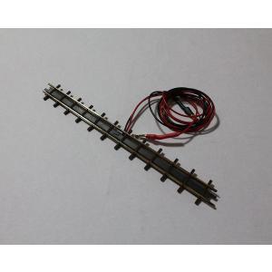 ブッシュ/BUSCH 12306 HOf (1/87,6.5mm) 直線レール フィーダー付き (133.2mm)|narrow-gauge-shop